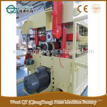Machine de ponçage arrière HPL / machine de ponçage à double tête à bande large