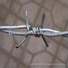 Galvanizado cerca de alambre de púas fabricante