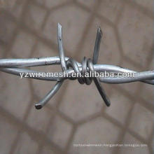 Galvanized barbed wire fence manufacturer