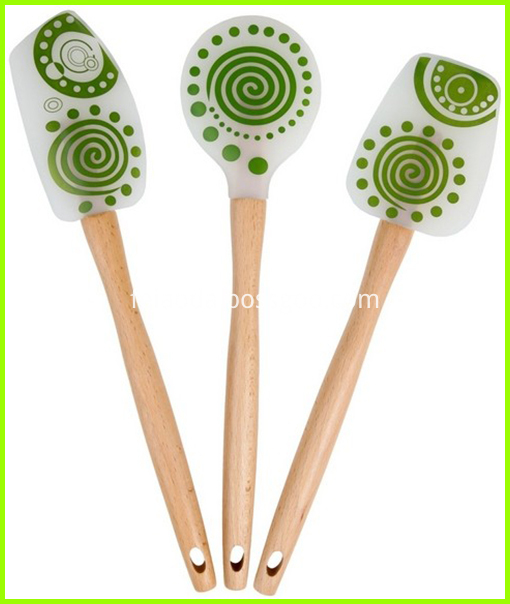 silicone spatula set
