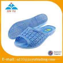 2016 China jieyang pvc slipper fabricants femme sandale pantoufle