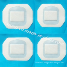Sterile Medical Disposable Surgical Transparent Isiand Dressing