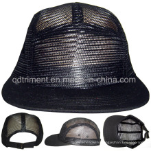 Flat Bill Mesh Camp Baseball Trucker Cap (TMFB01380-1)