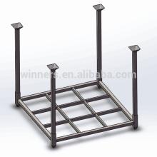 plataforma de acero plegable resistente para el manejo de materiales