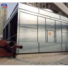 Torre de enfriamiento abierta de 231 toneladas de acero para enfriamiento de agua de proceso
