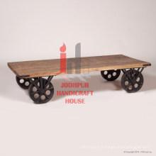 Table basse en fer