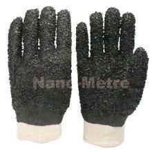 NMSAFETY guantes de seguridad de PVC de cuello redondo