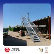 escaleras de estructura de acero al aire libre prefabricadas