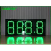 Affichage à LED De prix de gaz en acier imperméable à l'eau d'intense luminosité extérieure