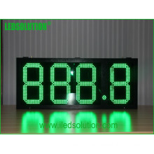 Outdoor Waterproof High Brightness Steel Frame Gas Price LED Display