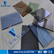 Getöntes farbiges Floatglas für Glasbau