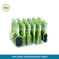 36pcs plastic green decoration makeup brush set