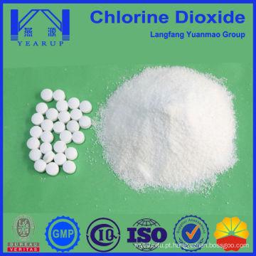 Melhor qualidade comprimido de dióxido de cloro e pó