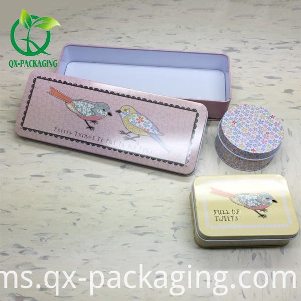 small tin box
