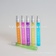 frasco de perfume de prata tamanho mate