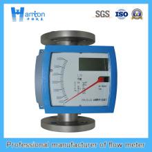 Instalación vertical 304 Metal Rotameter de tubo para Dn100-Dn200