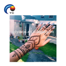 Wholesale Henna Stencils Mehndi Style Waterproof Tattoo Sticker Body Art Decoration