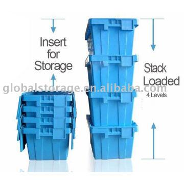 Tapa contenedor (almacenamiento y carga)