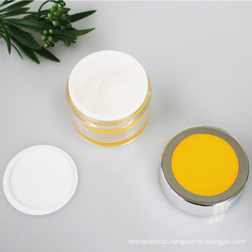 50g Clear Outer All Plastic Jar Luxury Jar Cosmetic Packaging