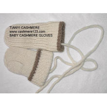 Cashmere Knitted Baby Gloves