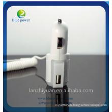 Adaptateur secteur cc usb pour Samsung chargeur mini voiture usb 2a chargeur de batterie micro voiture chargeur usb usb usb