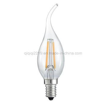 Tc35 1.5 W прозрачный затемнения светодиодные лампы накаливания