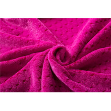 plush coral fleece fabric material for blanket