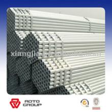 tube en acier galvanisé d'échafaudage utilisé dans la serre et la construction avec le tuyau antirouille de haute qualité et de prix concurrentiel