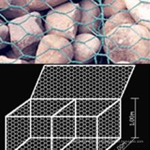 Шестиугольная габионная коробка