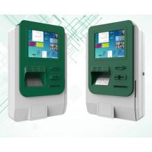 Angebrachtes Kiosk-Kabinett mit Drucker