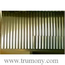 Chapa de aluminio corrugado para la arquitectura, techado e ingeniería