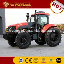Tracteur d'agriculture de KAT 1804 180HP 4WD bon marché avec le chargeur frontal et la pelle rétrocaveuse