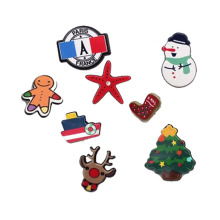 Christmas Motif Gift Collection Metal Brooch Pins