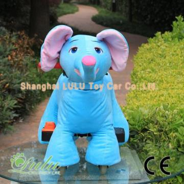 Low MOQ for Battery Powered Ride On Animals blue elephant ride car supply to Netherlands Antilles Exporter