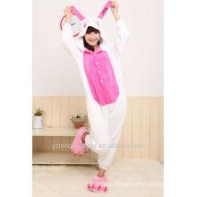 Weihnachtsgeschenk cosplay Tierpyjamas niedlicher Kaninchenwinterpyjamas