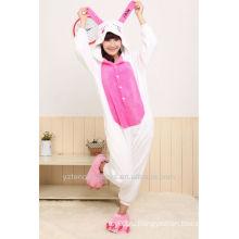 Рождественский подарок cosplay животных пижамы милый кролик зимой пижамы