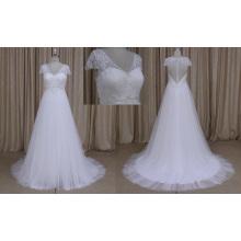 Einfaches Sylte Brautkleid