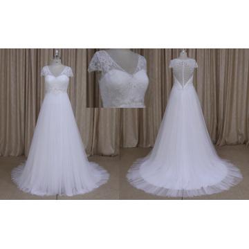 Robe de mariée simple en Sylte