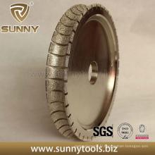 Roues de profilage de diamant pour le traitement du polissage de bord de pierre (SY-DFW-3399)