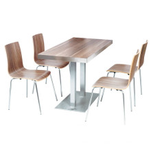Importierte Holzende Cafe Coffee Shop Restaurant Möbel