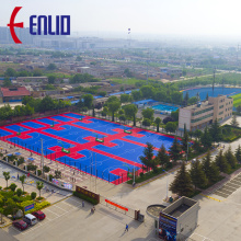 Multi-function Interlocking Court Tiles Sports Flooring