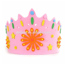 EVA Crown Cap DIY EVA happy birthday toys for kids