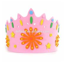 Ева Корона крышки DIY Ева с Днем Рождения игрушки для детей