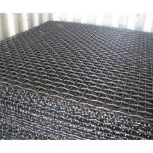 Tela de arame de aço carbono alto / malha de tela de mineração / malha de aperto