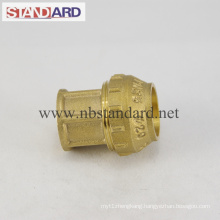 Female Elbow Brass PE Fitting