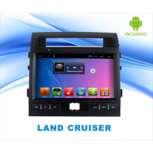 Système Android Lecteur DVD pour Land Cruiser Ecran tactile 10,1 pouces avec GPS / WiFi / Bluetooth