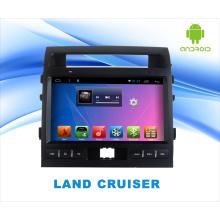 Автомобильный DVD-плеер с системой Android для Land Cruiser 10,1-дюймовый сенсорный экран с GPS / WiFi / Bluetooth