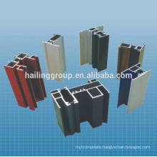 Extruded Aluminium profile for window and door