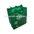 Christmas Non Woven Bags Reusable Fabric Holiday Gift Bags