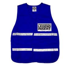 Traffic Safety Vest Royal Blue Meet En471